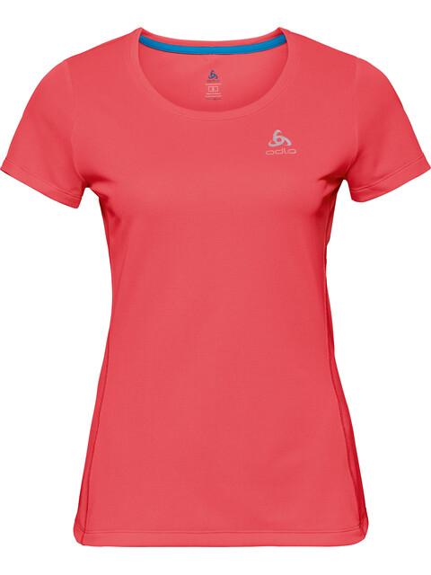 Odlo Sliq Koszulka do biegania z krótkim rękawem Kobiety czerwony